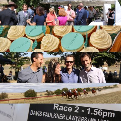 lawyerbank hosts a day out at the Yass Races