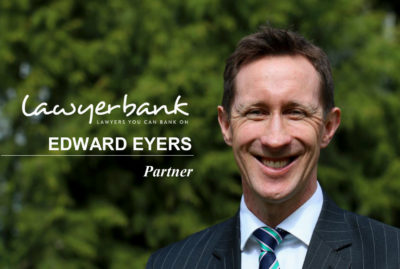 lawyerbank expands its partnership to welcome Edward Eyers!