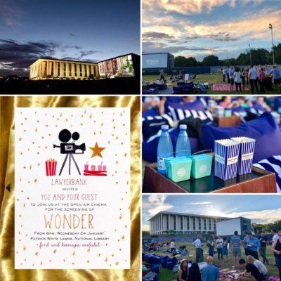 lawyerbank hosts outdoor movie evening – Jan 2018
