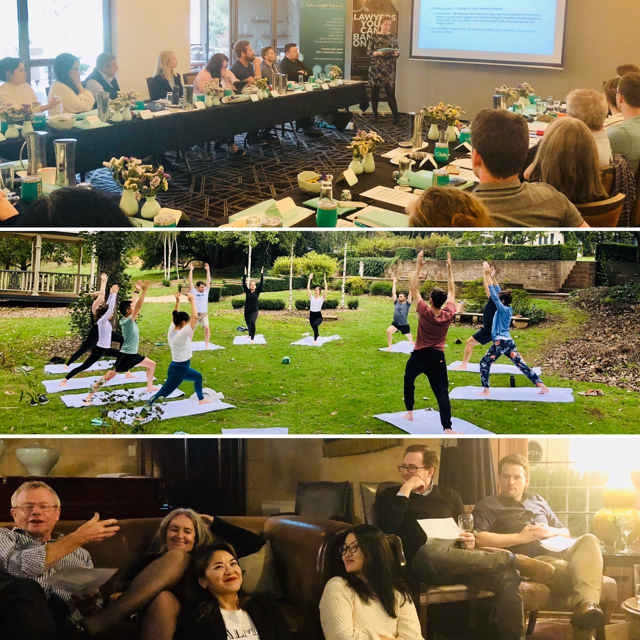lawyerbank CPD Retreat 2020 – The activities!
